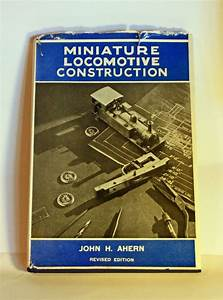 Miniature Locomotive Construction 1950s Model By