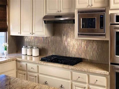 kitchen backsplash ideas metal tiles joanne russo