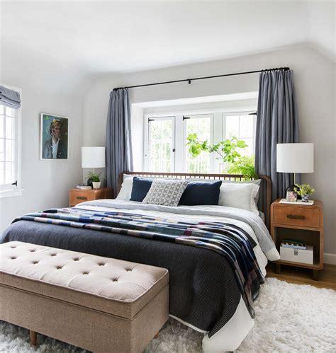 modern cottage bedroom our master bedroom reveal emily henderson 12556 | Emily Henderson Modern English Cottage Tudor Master Bedroom Reveal9 Cropped