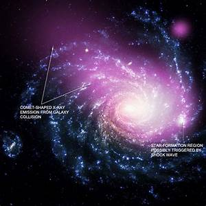 Dwarf Galaxy Caught Ramming Into a Large Spiral ~ Ideas ...