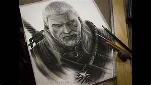 Drawing Geralt Of Rivia