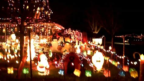 christmas lights grimes iowa 2010 avi youtube