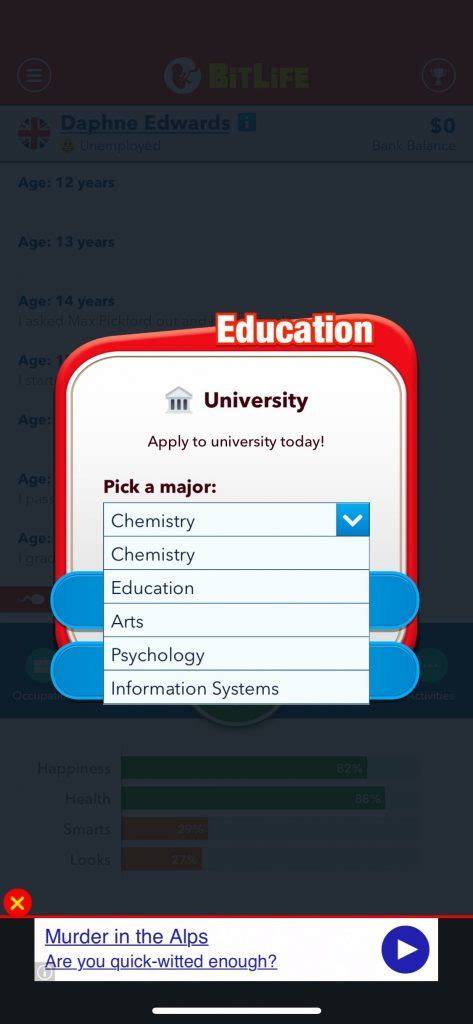 bitlife simulator character tapping control thecasualappgamer