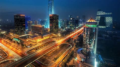 beijing china city  unusual shapes  buildings modern