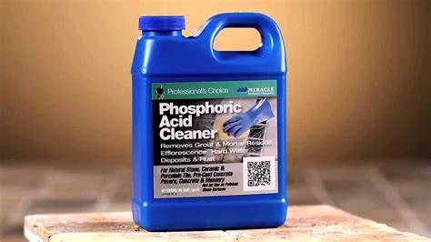 Miracle Sealants   Phosphoric Acid Cleaner   YouTube