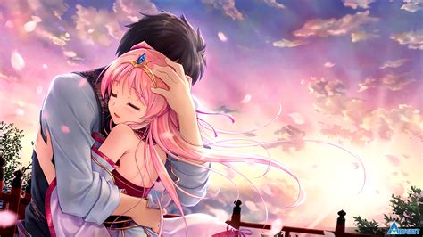 Anime Hug Wallpapers - sen no hatou tsukisome no kouki id 110184 abyss