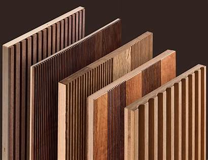 Gizia Panels Wood Wooden Slat Panel Machined