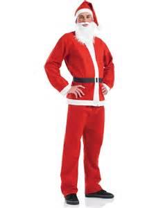 mens cheap santa suit