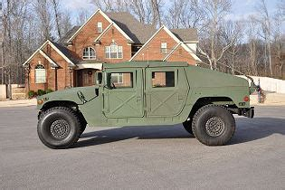 humvee side view m1025a2 m1025a1 m1025 hmmwv technical data sheet