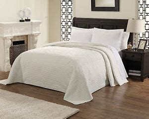 Oversized Coverlets by Country White Oversized Bedspread Coverlet