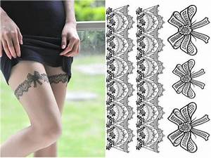 lace garter tattoo designs garter tattoos things to wear With garter tattoo templates