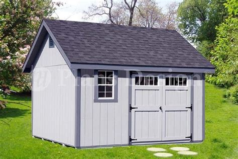12x12 shed plans materials list shed plans outdoor building blueprints 12 x 12 gable