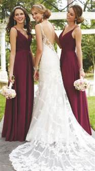 cranberry colored bridesmaid dresses best 20 burgundy bridesmaid ideas on winter wedding bridesmaids maroon wedding