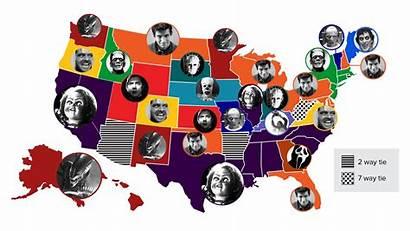 Horror Classic Villain Popular State Each Frontier