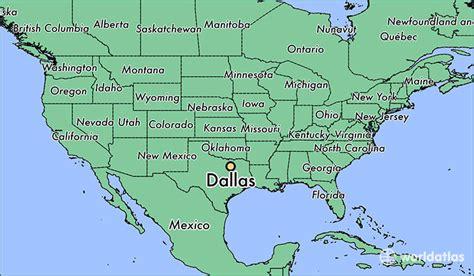 dallas tx dallas texas map worldatlascom