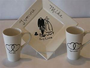 diy pottery a super cute wedding gift idea painted With pottery wedding gift ideas