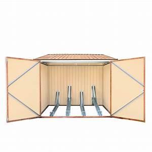 Fahrradbox Für 4 Fahrräder : metall fahrradgarage fahrradbox fahrradschuppen holz dekor ~ Articles-book.com Haus und Dekorationen