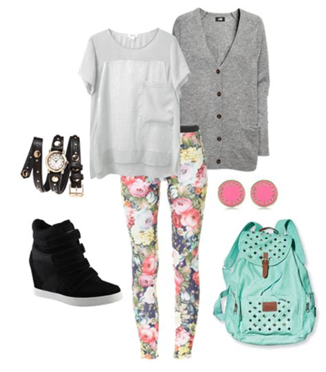 Cute fall school outfits for teenage girls 4205