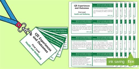 Editable * New * First Level Health And Wellbeing Experiences And Outcomes