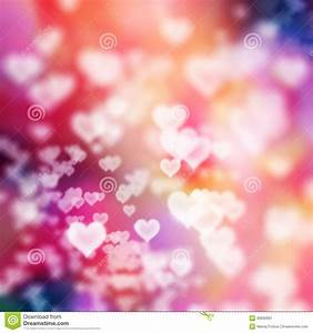 White Hearts On Colorful Background Stock Image - Image of ...