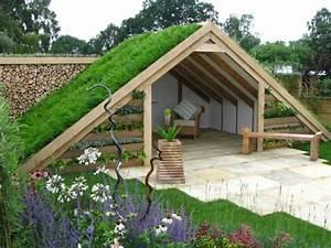 idees pour decorer et amenager votre abri de jardin With awesome maison bois sur plots 7 amenagement dune terrasse en toiture centre ancien de