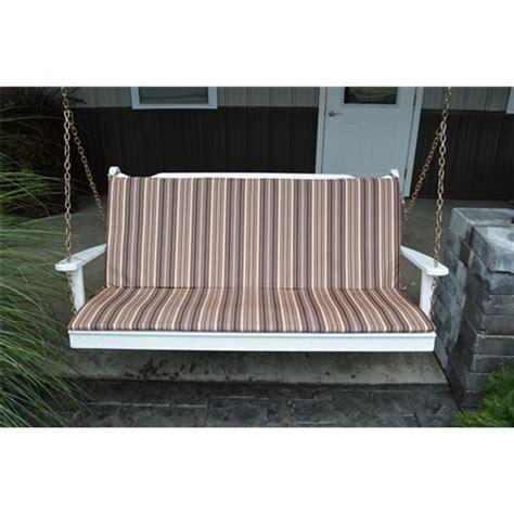 5 ft glider swing bench cushion