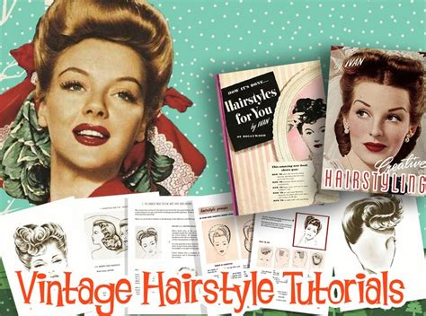 1940s Hairstyles Tutorial by 93 Best 1940s Hairstyles Images On 1940s Hair