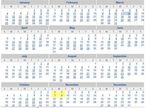 Behavior Calendar For February