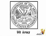 Army Coloring Flag Military Pages Flags American Usa America Seal United States Sheets Soldier Yescoloring Clipart Force Air Armed Forces sketch template