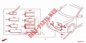 Wire Harness  2   Rh  For Honda Cars Civic Type R 5 Doors