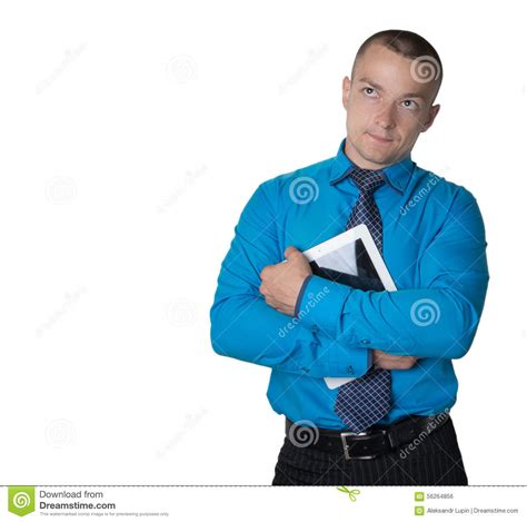 employ馥 de bureau hommes réfléchis d 39 employé de bureau photo stock image 56264856
