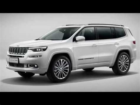 Jeep Beijing 2020 by New Jeep Grand Commander 2019 Three Row Crossover Suv