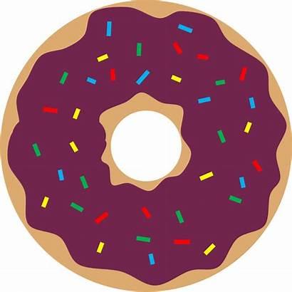 Donut Transparent Clipart Background Donuts Clip Juice