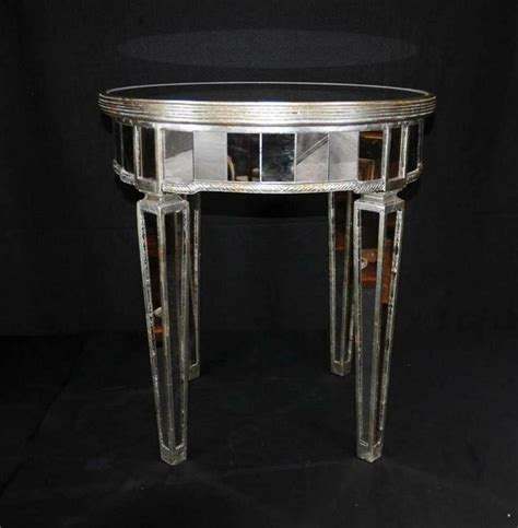 mirror tables mirrored side table deco table mirror