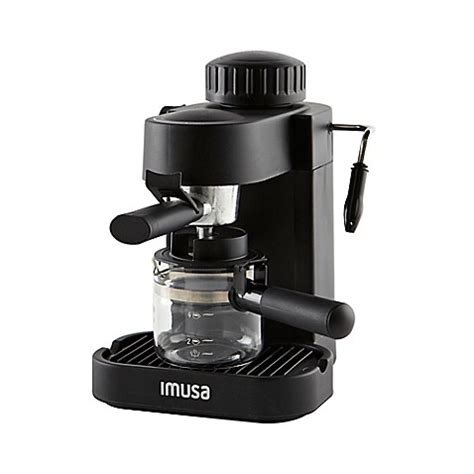 What are the shipping options for imusa coffee makers? IMUSA® 4-Cup Espresso/Cappuccino Maker in Black - Bed Bath & Beyond