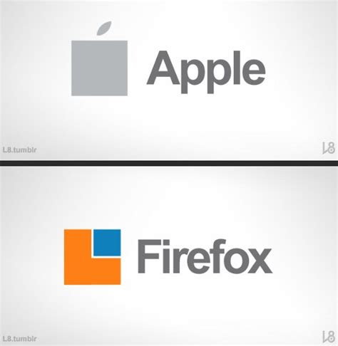 Famous Brand Logos In New Microsoft Modern Ui Design