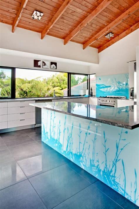 Glasplatte Wand Küche by Peppen Sie Jeden Wohnraum Durch Bedrucktes Glas Auf