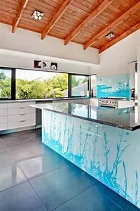 Glasplatte Für Küchenrückwand : peppen sie jeden wohnraum durch bedrucktes glas auf ~ Articles-book.com Haus und Dekorationen
