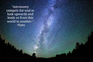 Astronomy compels the soul to look upwar by Plato @ Like ...