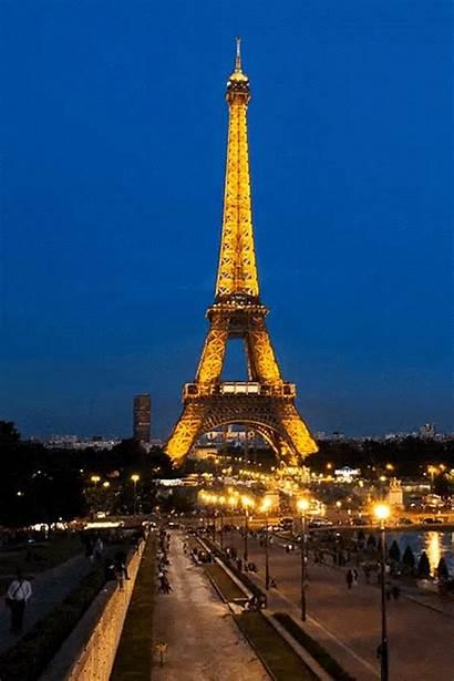 Eiffel Paris Tower Torre France Gifs Animated