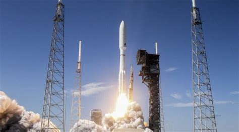A United Launch Alliance Atlas V rocket launched two U.S ...