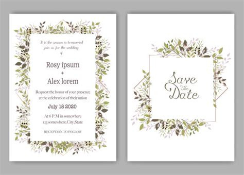 Save The Date Illustrations Royalty Free Vector Graphics