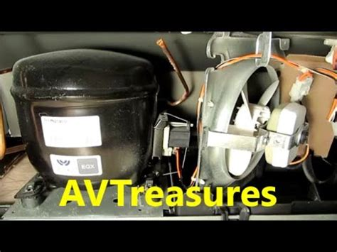 cleaning  condenser coil   ge refrigerator youtube