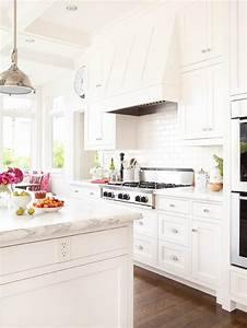 All White Kitchen - Transitional - kitchen - BHG