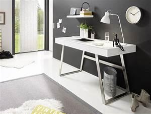 Wandregal Weiß Matt : aurela schreibtisch material mdf weiss matt ~ Orissabook.com Haus und Dekorationen