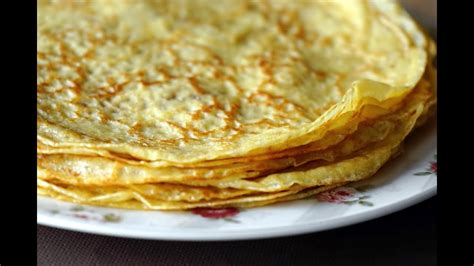 la pate  crepes youtube
