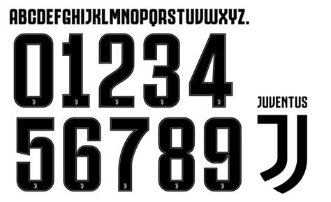 Font Number Football