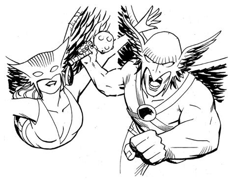 90 Best Images About Hawkman & Hawkgirl On Pinterest