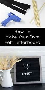 4183 best diy ideas images on pinterest craft ideas With how to make a felt letter board
