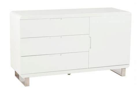 meuble laqu 233 blanc 3 tiroirs paulo meubles de rangement